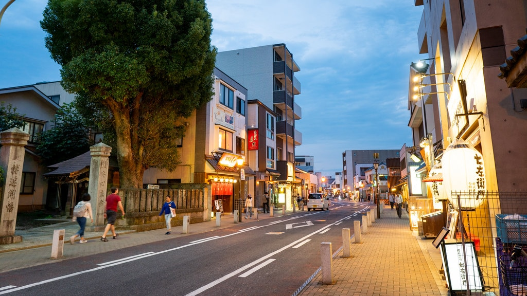 Narita which includes street scenes