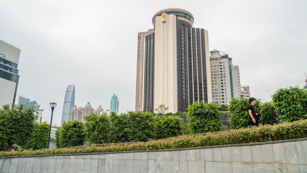 Shenzhen featuring a city