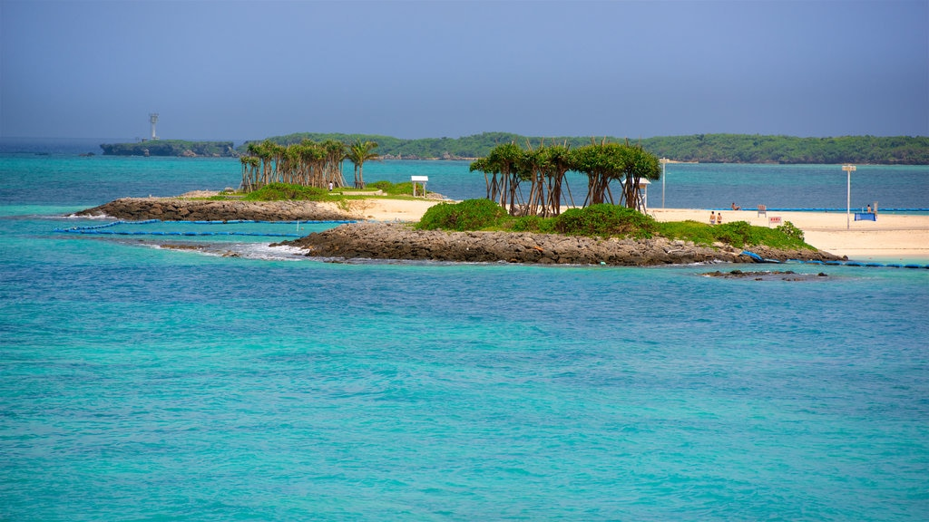 North Okinawa featuring tropical scenes, general coastal views and landscape views