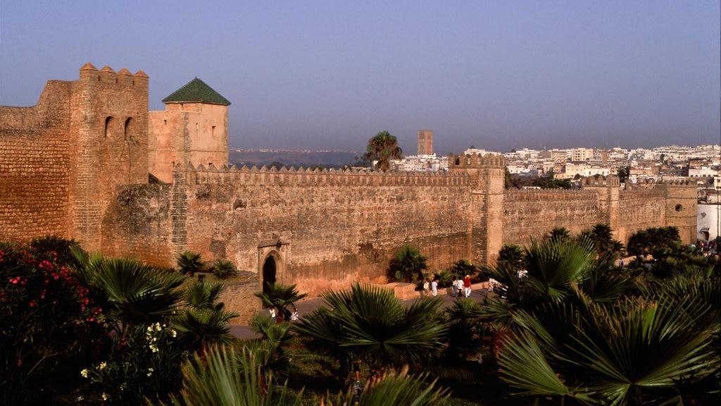 San Juan de Dios featuring landscape views, heritage architecture and a sunset