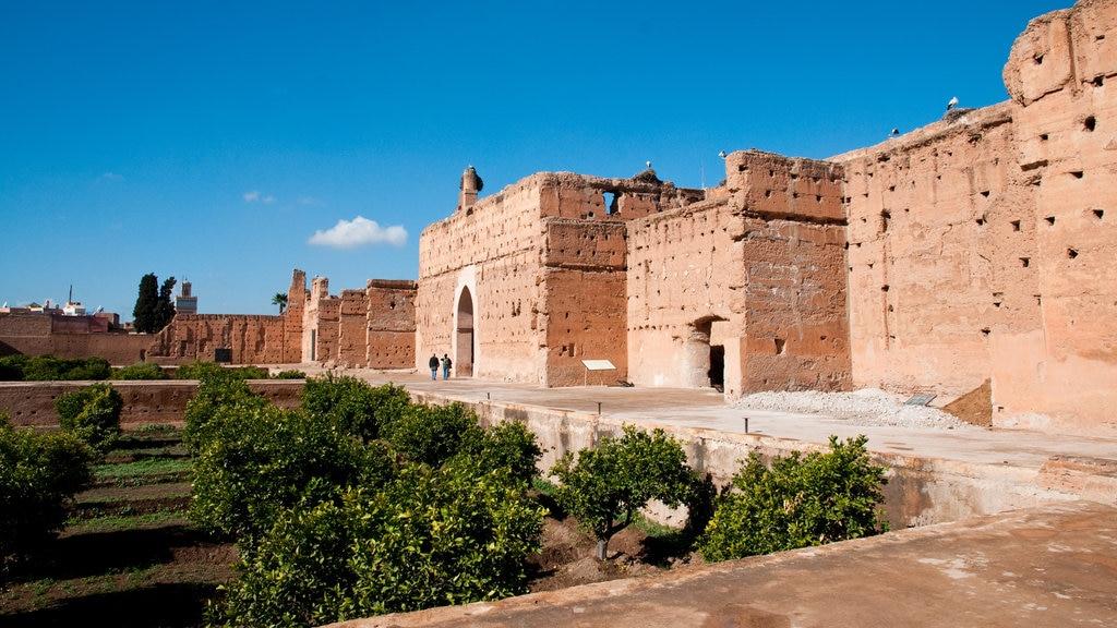El Badi Palace featuring heritage architecture