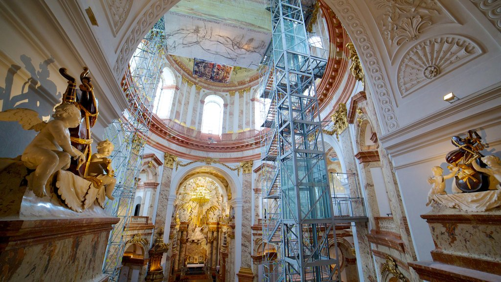 St. Charle\'s Church which includes a church or cathedral, heritage architecture and religious aspects