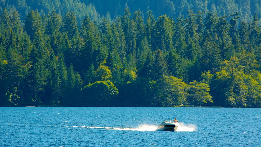 Washington featuring boating, landscape views and a lake or waterhole