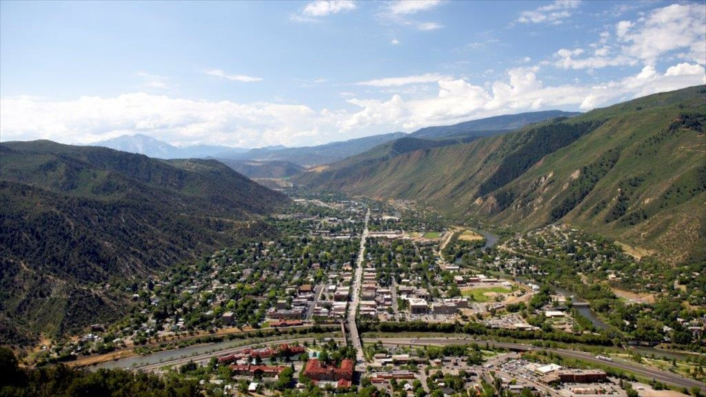 Glenwood Springs featuring a city, mountains and landscape views