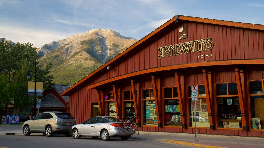 Canmore featuring signage