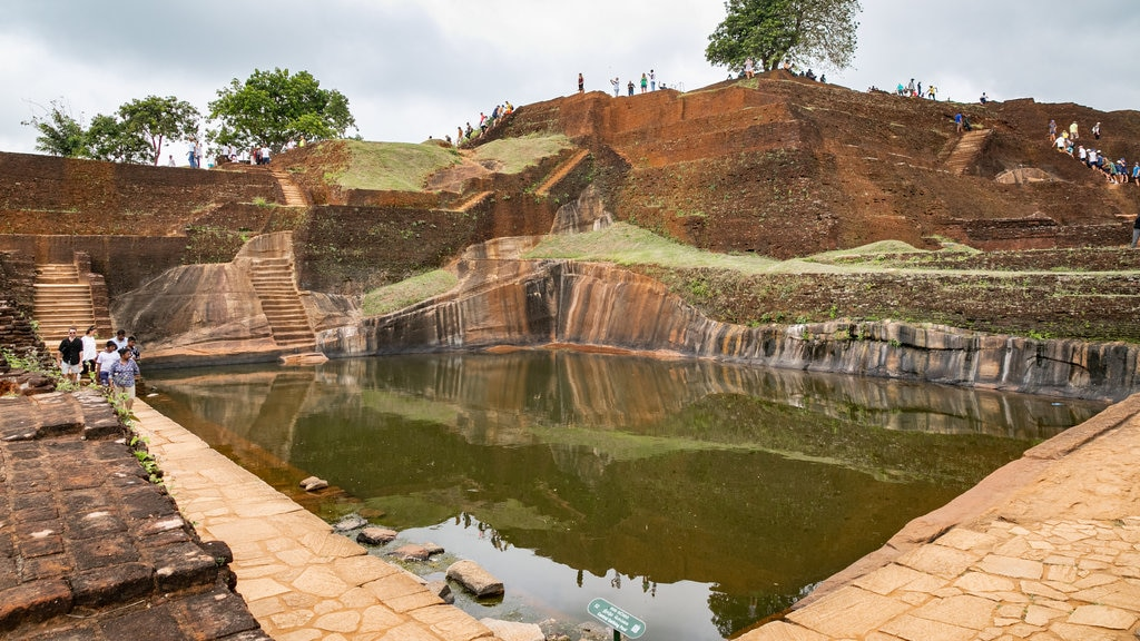 Sigiriya featuring a pool and heritage elements