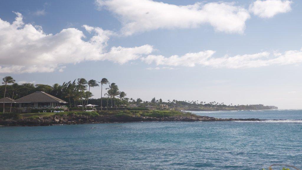 Kapalua Beach which includes general coastal views