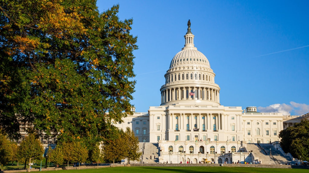United States Capitol which includes an administrative buidling and heritage architecture