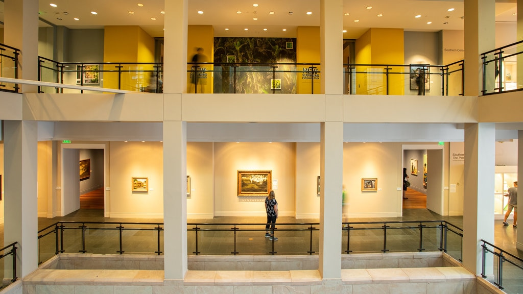 Ogden Museum of Southern Art which includes interior views