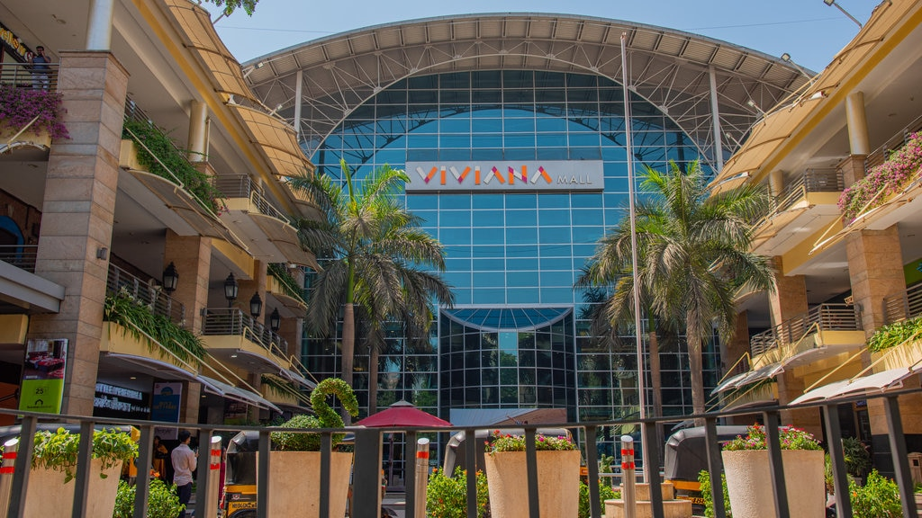 Viviana Mall which includes signage