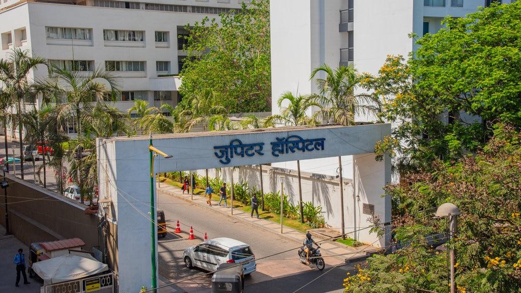 Jupiter Hospital showing signage