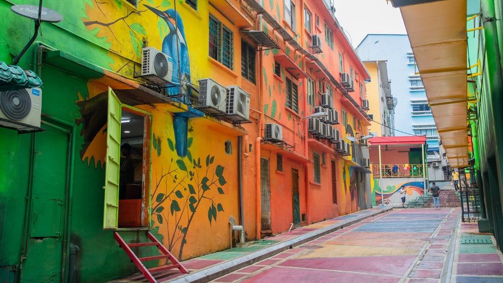 Kuala Lumpur showing outdoor art