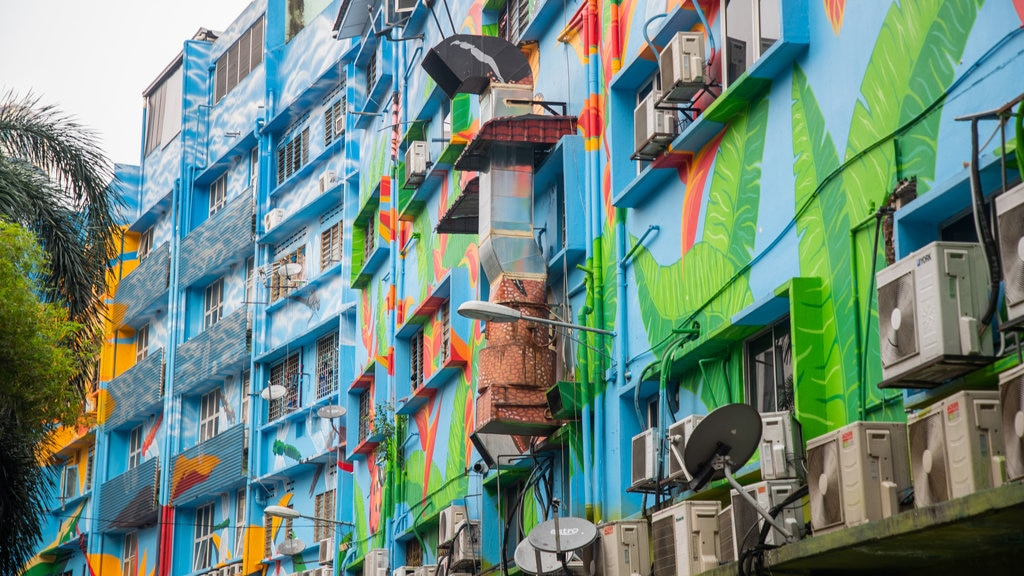 Kuala Lumpur which includes outdoor art