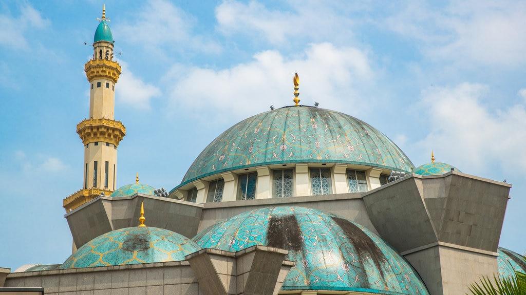 Mezquita del Territorio Federal ofreciendo patrimonio de arquitectura