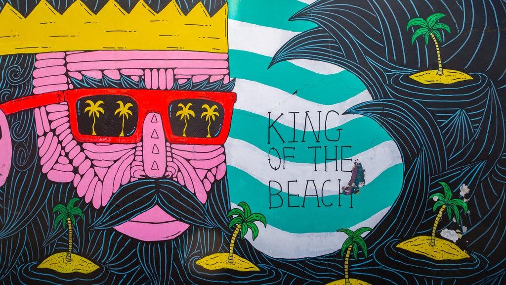 Bondi Beach featuring outdoor art
