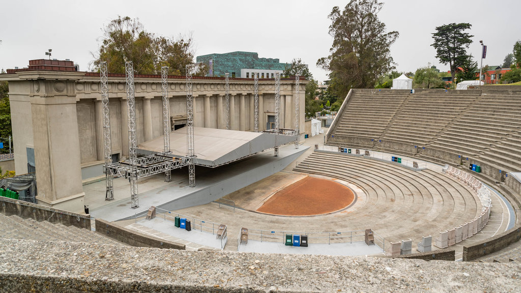 Greek Theater featuring theater scenes