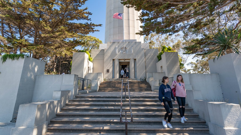 Coit Tower as well as a couple