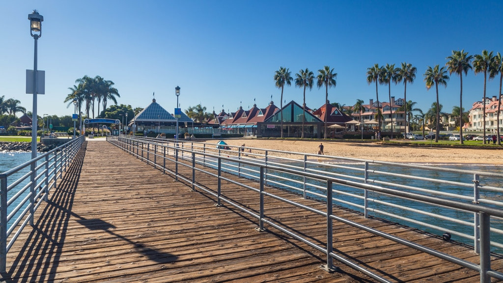 Coronado Ferry Landing which includes general coastal views