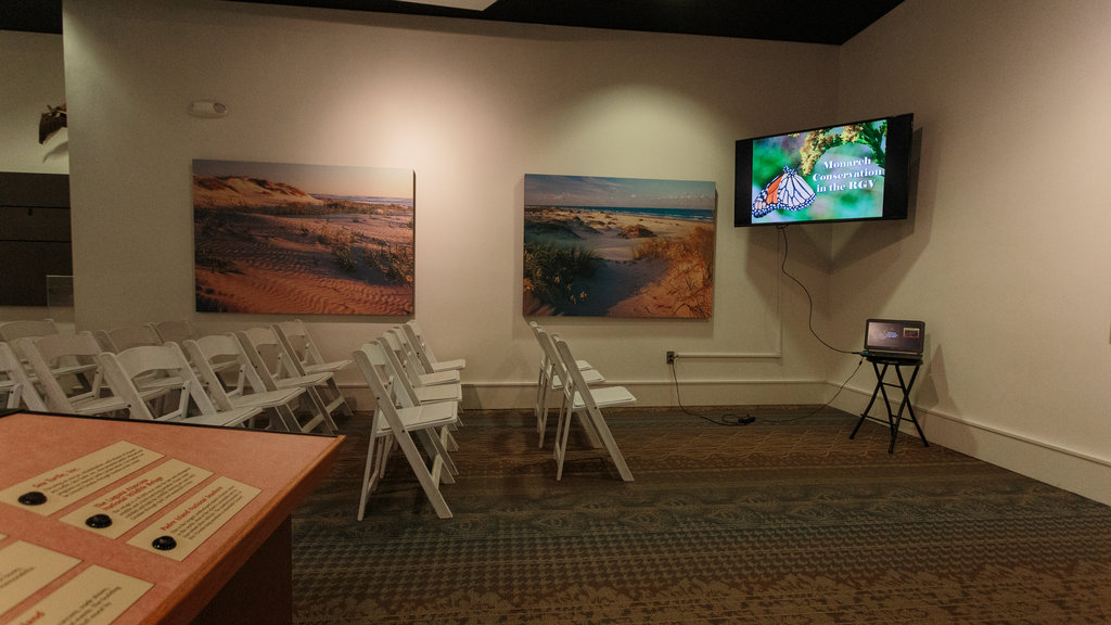 South Padre Island Birding and Nature Center featuring interior views