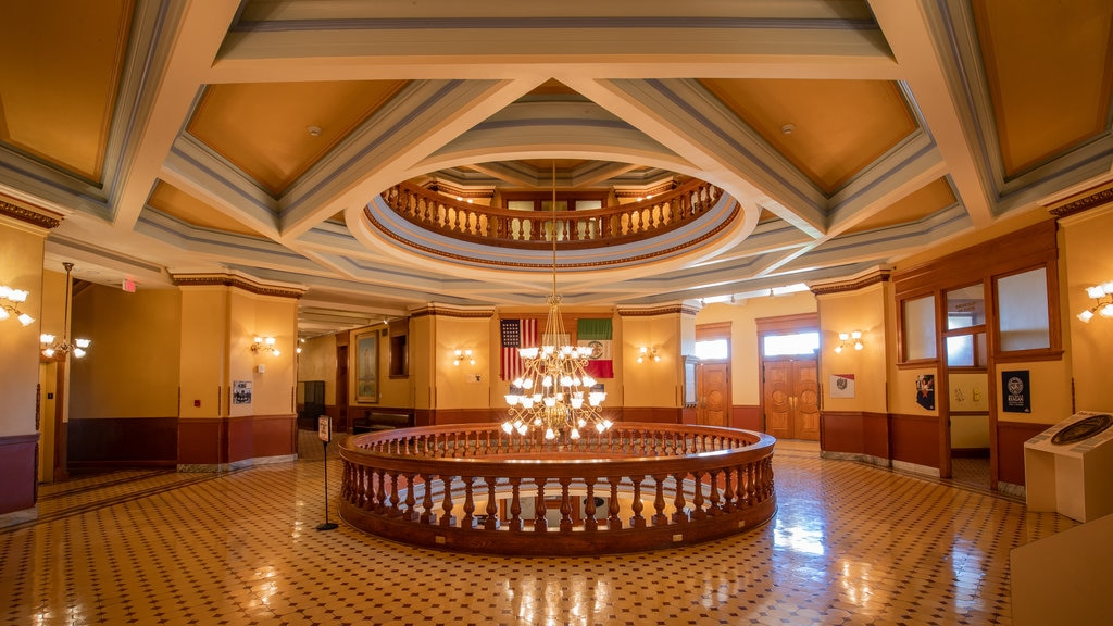 Arizona State Capitol featuring interior views and heritage elements