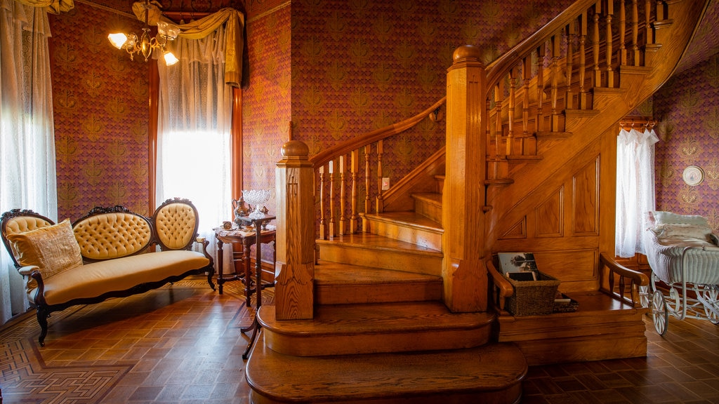 Rosson House Museum which includes interior views and heritage elements