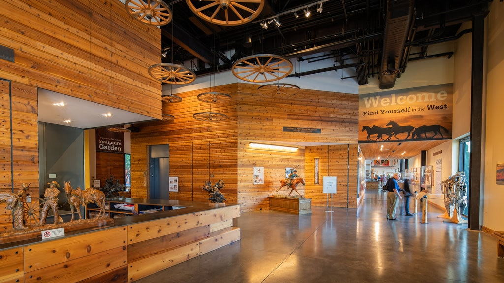 Western Spirit: Scottsdale\'s Museum of the West showing interior views