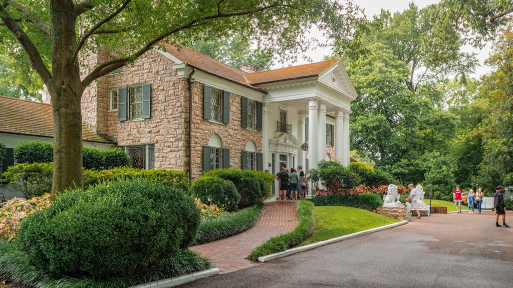 Graceland featuring a house