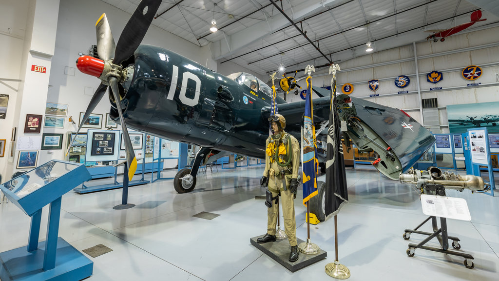 Arizona Commemorative Air Force Museum featuring heritage elements and interior views