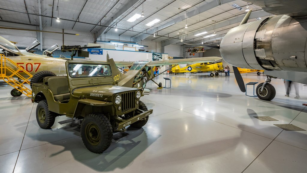 Arizona Commemorative Air Force Museum which includes heritage elements and interior views