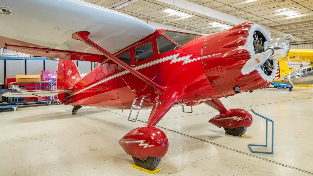 Arizona Commemorative Air Force Museum featuring interior views