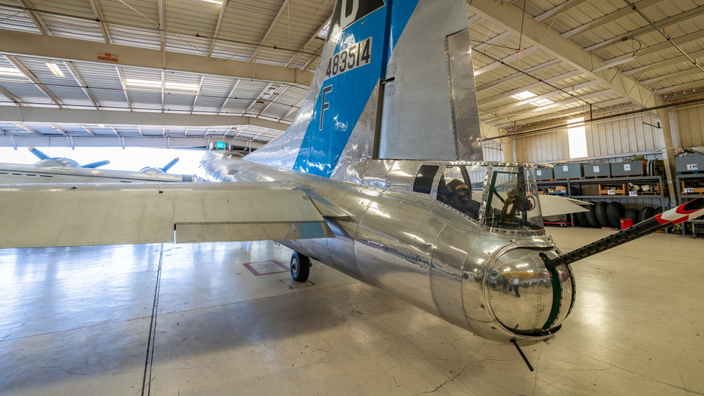 Arizona Commemorative Air Force Museum which includes interior views