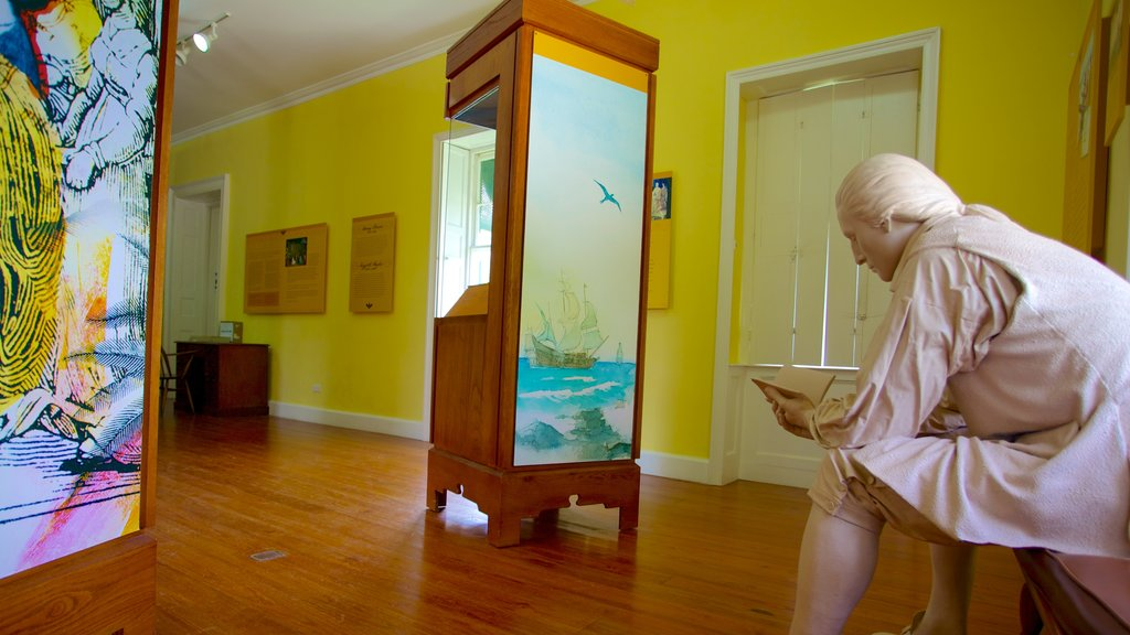 George Washington House showing interior views