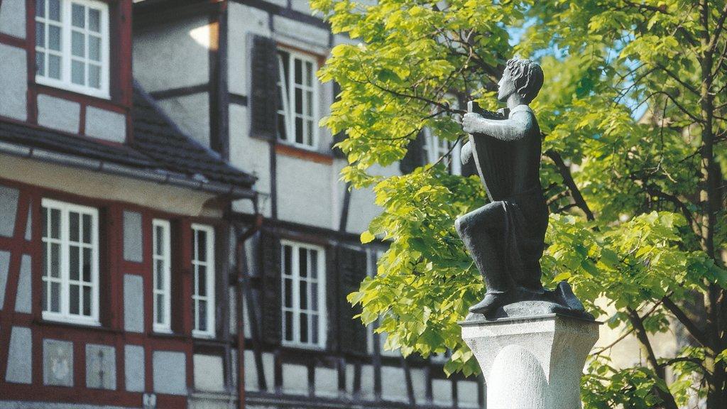 Bregenz featuring a statue or sculpture