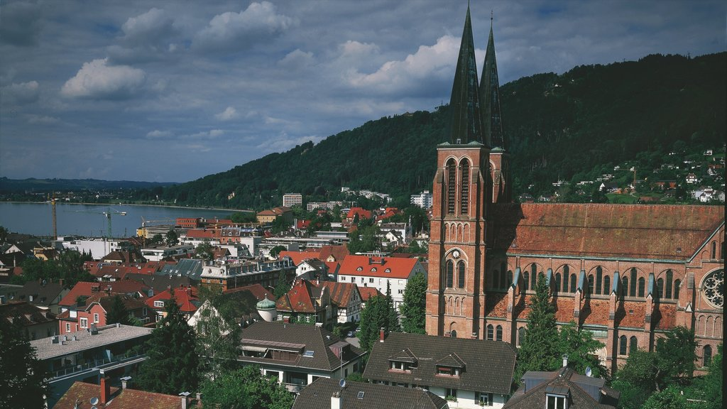 Bregenz featuring heritage architecture, religious aspects and a church or cathedral