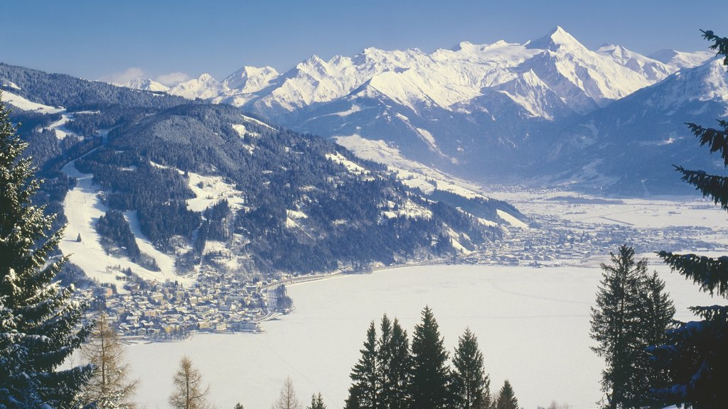 Zell am See featuring snow, mountains and landscape views