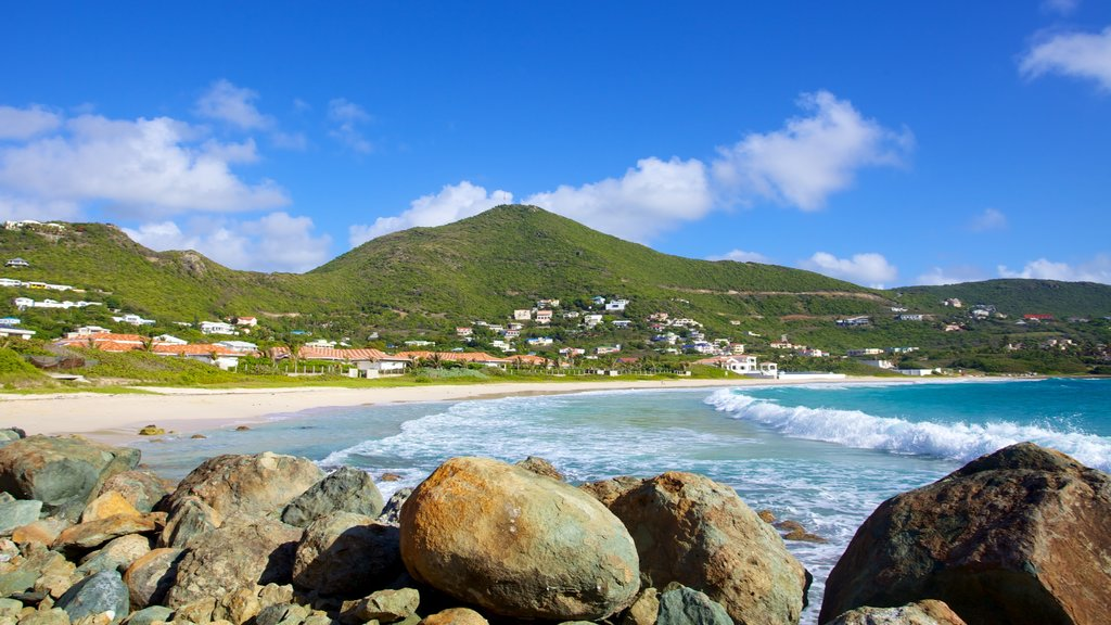 Guana Bay Beach which includes a beach and landscape views