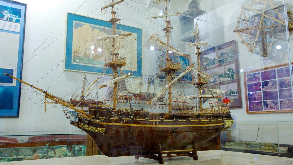 Museum of Sint Maarten which includes interior views