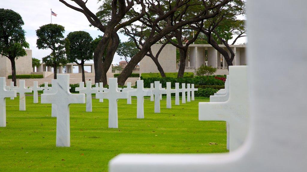 Manila que incluye un monumento y un cementerio