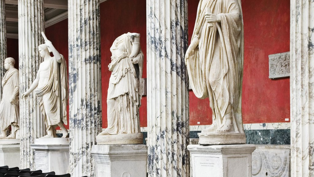 Ny Carlsberg Glyptotek which includes heritage elements and a statue or sculpture