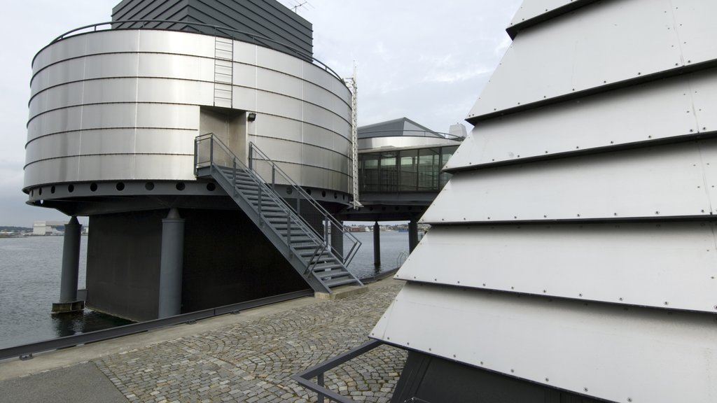 Norwegian Petroleum Museum showing modern architecture