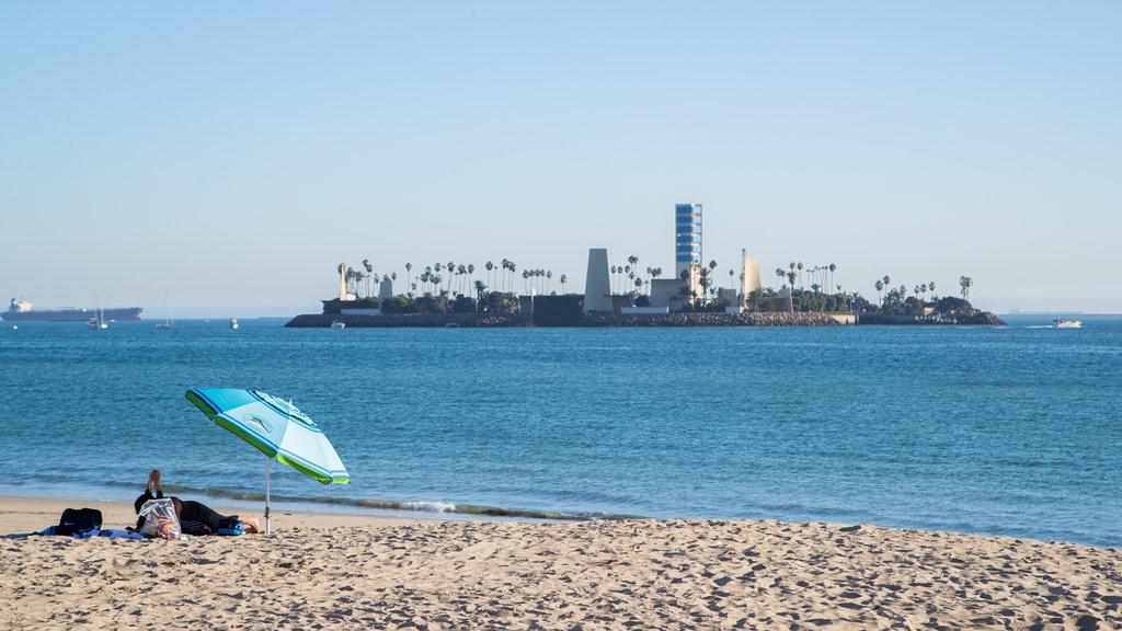 City Beach featuring island views, a sandy beach and general coastal views