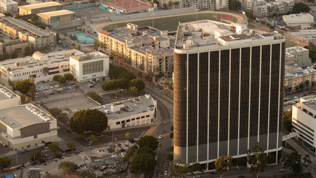 OUE Skyspace LA showing a city and landscape views