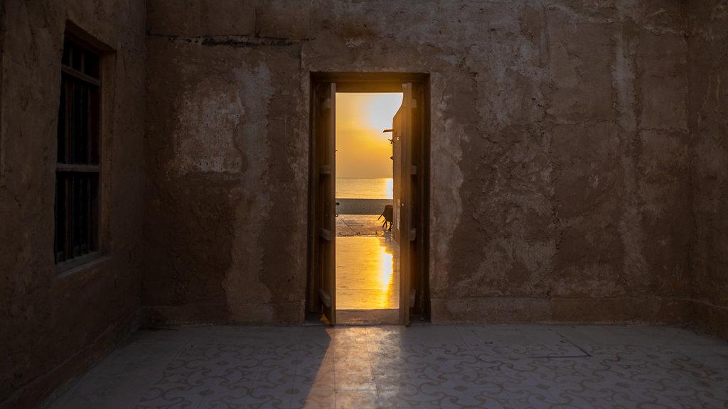 Al Wakrah Souq featuring interior views