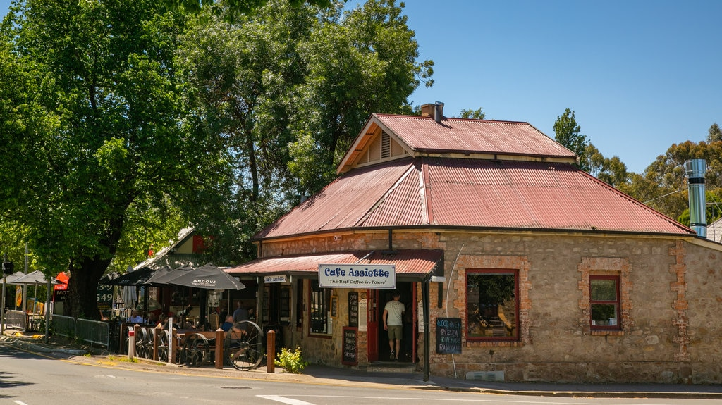 Hahndorf showing street scenes