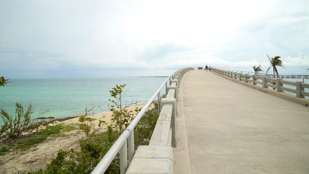Bahia Honda State Park and Beach featuring general coastal views and a bridge