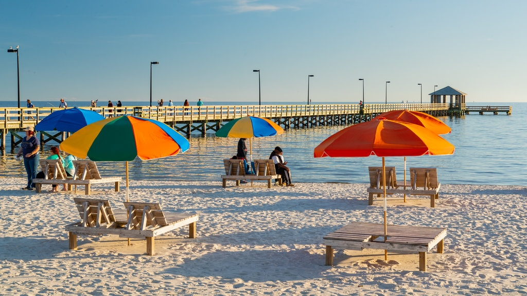 Biloxi Beach featuring general coastal views and a beach
