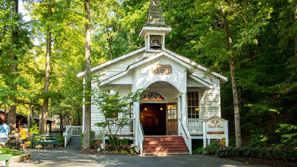 Dollywood featuring a church or cathedral