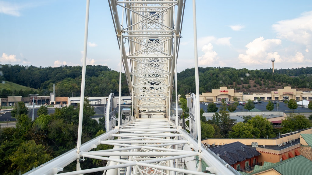 Great Smoky Mountain Wheel featuring a small town or village and landscape views