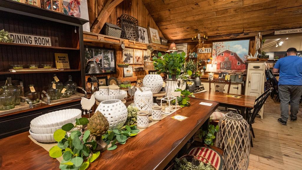 Kitchen Kettle Village which includes interior views