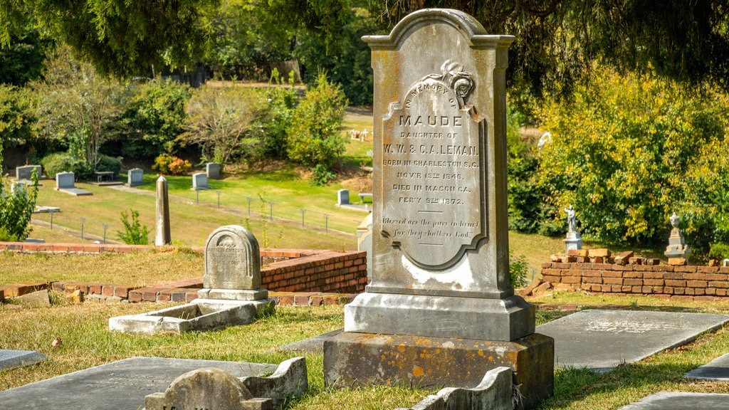 Rose Hill Cemetery featuring a cemetery